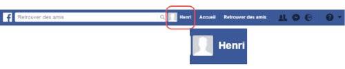 accès profil facebook